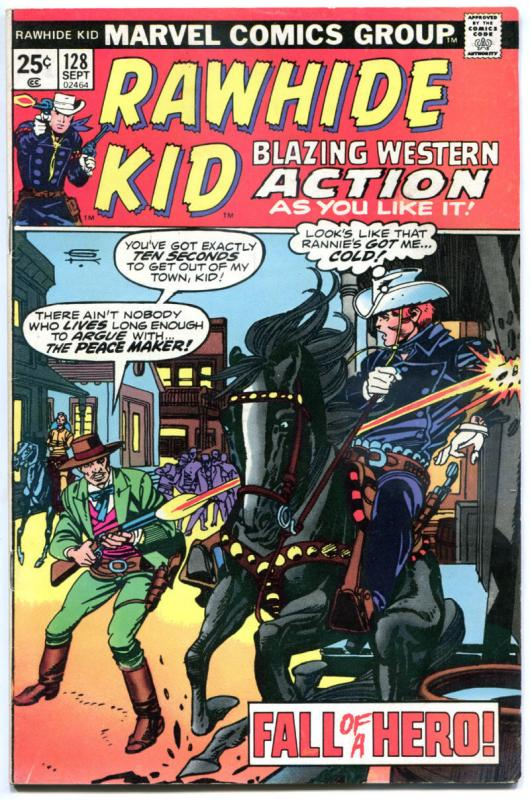 RAWHIDE KID #128 129 130, 136, FN, Western, Gunfights, more in store
