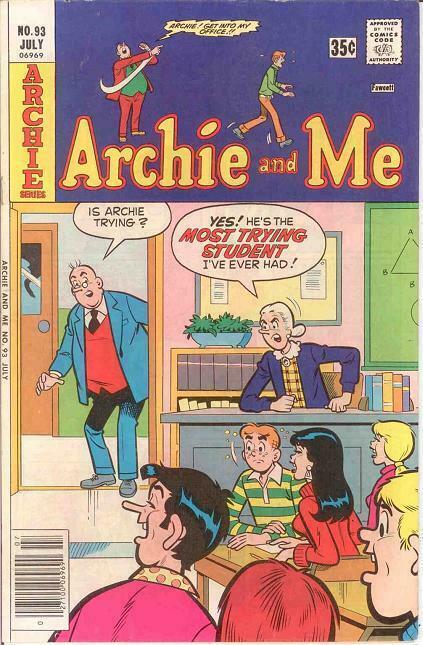 ARCHIE & ME (1964-1987)93 VF-NM   July 1977 COMICS BOOK