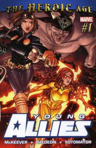 Young Allies #1 FN; Marvel | save on shipping - details inside