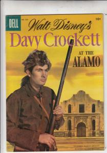Four Color #639 (Jul-57) FN/VF+ High-Grade Davy Crockett