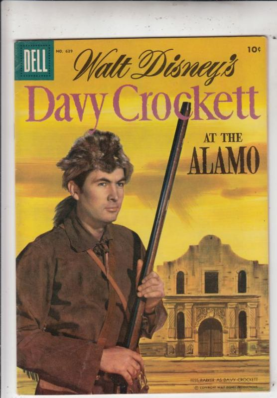 Four Color #639 (Jul-57) FN/VF+ High-Grade Davy Crockett