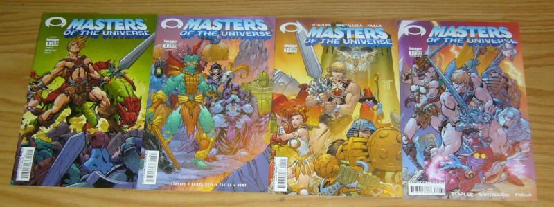 Masters of the Universe #1-4 VF/NM complete series B variants J SCOTT CAMPBELL
