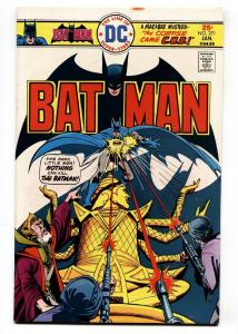 Batman #271-Bronze Age-DC-HIGH GRADE-VF- 1976