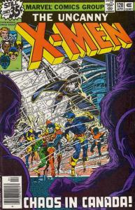 X-Men (1st Series) #120 VG; Marvel | low grade comic - save on shipping - detail