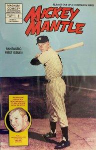 Mickey mantle #1 8.0 VF (1991)