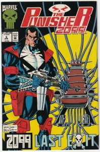 The Punisher 2099 #3 Last Exit April 1993 Marvel