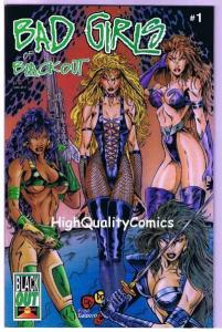 BAD GIRLS of BLACKOUT 1, NM+, Femme Fatale, Good girl, 1995,more indies in store