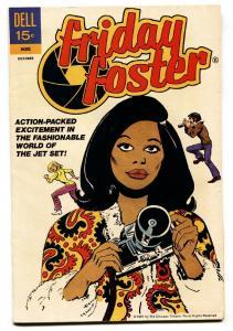 Friday Foster #1-DELL-Black Female heroine- 1972-Rare-VF