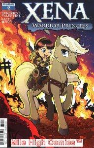 XENA: WARRIOR PRINCESS (2016 Series)  (DYNAMITE) #2 FLEECS Near Mint Comics Book