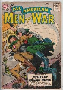All-American Men of War #70 (Jun-59) VG/FN Mid-Grade