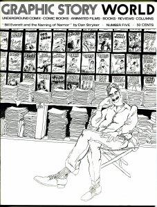 Graphic Story World #5 1972-Bill Everett-Comix World-Jean Giraud-Shel Dorf-NM