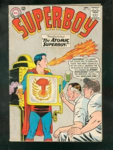 SUPERBOY #115 1964-ATOMIC SUPERBOY-UPSET STOMACH-DOCTOR VG-