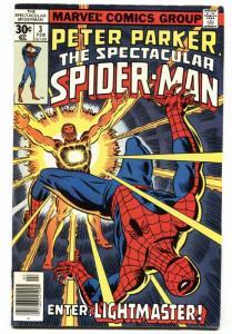 SPECTACULAR SPIDER-MAN #3 comic book 1976 high grade copy