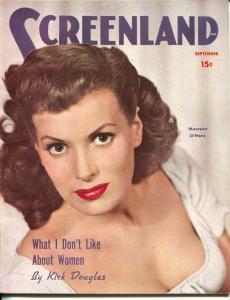ScreenLand-Maureen O'Hara-Kirk Douglas-Tyronne Power-Ava Gardner-Sept-1950