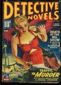 DETECTIVE NOVELS 1944 APR-GGA HEADLIGHT COVER G