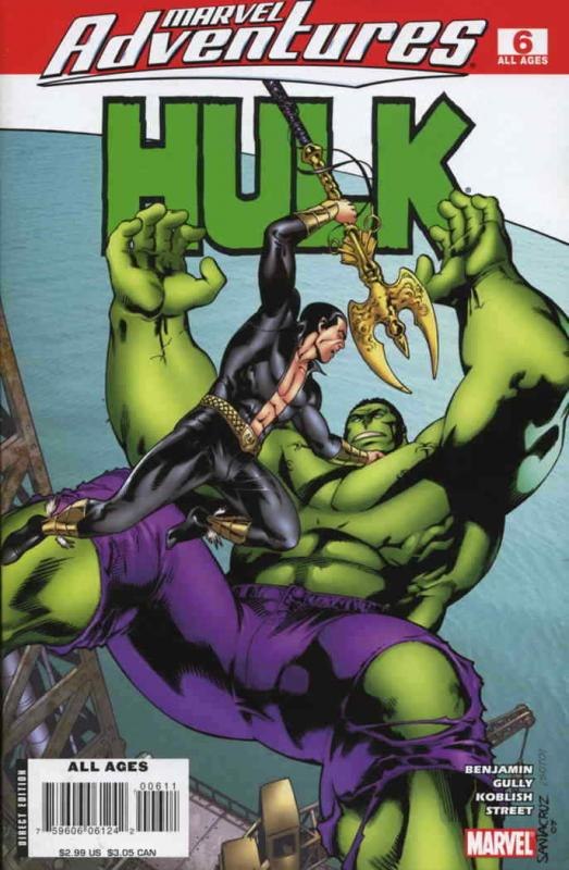 Marvel Adventures Hulk #6 VF/NM; Marvel | save on shipping - details inside
