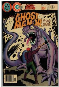 GHOST MANOR (1971-1984) 37 F-VF May 1978  Ditko cvr/ar