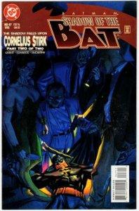 BATMAN Shadow Of The Bat #47 (VF+) 1¢ Auction! No Resv!