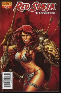 Red Sonja #34 (Dynamite Entertainment)- Adriano Batista Cover
