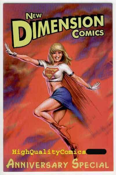 NEW DIMENSION COMICS, NM+, Joseph Linsner, 2001,Batman, more JML in store