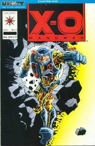 X-O Manowar (1992 series) #7, VF (Stock photo)