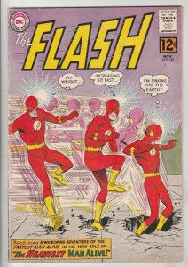 Flash, The #132 (Nov-62) FN/VF Mid-High-Grade Flash