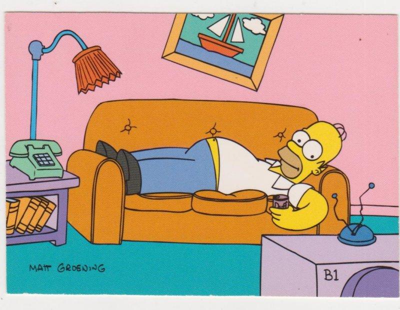 1993 Simpson Trading Cards Promo Card #B1