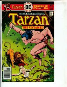 Tarzan-#250-1976-DC-BRONZE-AGE-Joe Kubert-NM-
