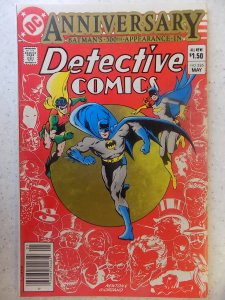 DETECTIVE COMICS # 526 ANNIVERSARY ISSUE SOME SMUDGING ON BACK COVER