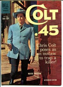 Colt .45 #6 1960-Dell-Wayde Preston TV photo-Alex Toth-FN
