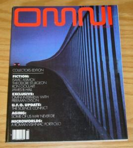 Omni Magazine vol. 1 #1 VF- october 1978 - isaac asimov - ron goulart - vishniac