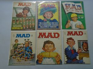 Early 70's MAD Magazine lot 11 different avg 4.0 VG
