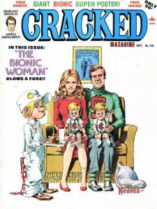 Cracked #135 VG; Globe   low grade comic - save on shipping - details inside