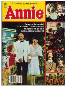 MARVEL SUPER SPECIAL 23 VG-F ANNIE ADAPTED BY DEFALCO/