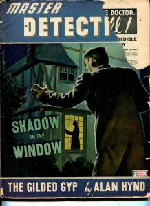Master Detective 6/1944-Richard Cardiff cover-violent crime-pulp thrills-VG