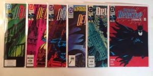 Detective Comics 625 626 627 628 629 630 Near Mint Lot Set Run
