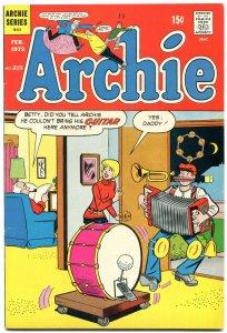 Archie Comics #215 1972- Bronze Age-Betty & Veronica- VF