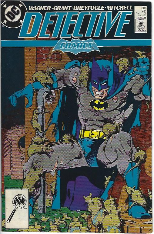 DETECTIVE COMICS #585 FIRST RAT CATCHER $5.00