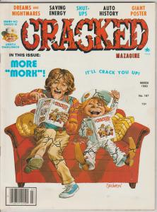 CRACKED #167 - HUMOR COMIC MAGAZINE