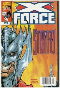 X-Force #74 February 1998 Marvel Comics