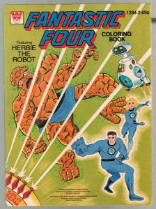 Fantastic Four Coloring Book #1394-2 1979-The Robot-69¢ cover price-VF
