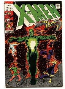X-MEN #55 comic book 1969-MARVEL COMICS-VINCE COLLETTA BARRY SMITH