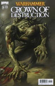 Warhammer: Crown of Destruction #2B VF; Boom! | save on shipping - details insid