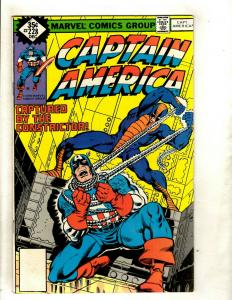 11 Captain America Marvel Comics 228 229 (2) 233 251 252 254 258 260 261 275 RM1