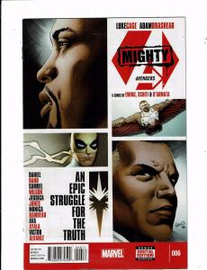 Lot Of 6 Mighty Avengers Marvel Comic Books # 6 7 8 9 10 11 Thor Iron Man J151