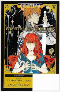 HCF Halloween ComicFest Mortal Instruments #1 (Yen Press, 2017) VF/NM