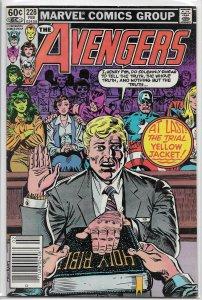 Avengers   vol. 1   #228 VG