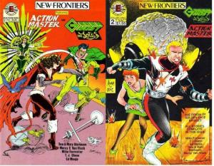 NEW FRONTIERS  1-2  Curt Swan & Adam Hughes cover art !