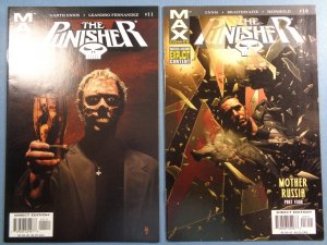 Punisher Lot of 34 Comics Marvel Max #5-70 Annual #1