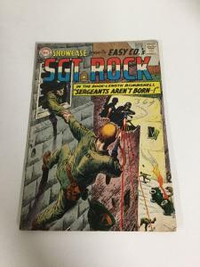 Showcase 45 Sgt Rock Vg Very Good 4.0 Silver Age